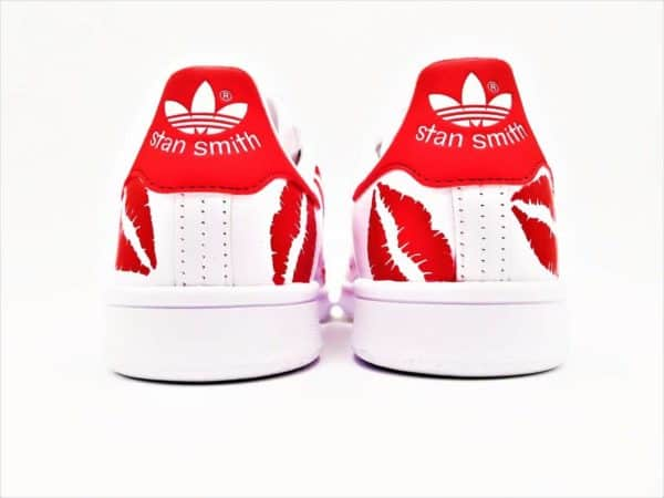 Adidas Custom Stan Smith Kiss par Double G Customs