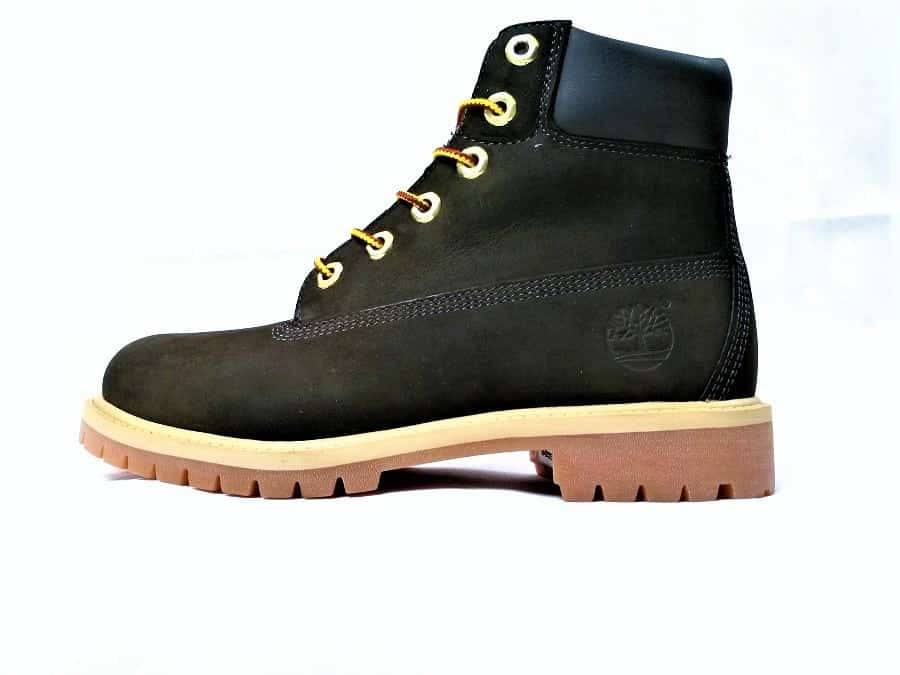 chaussures customisées Timberland Black destroyed jeans double g customs shoes chaussures personnalisées