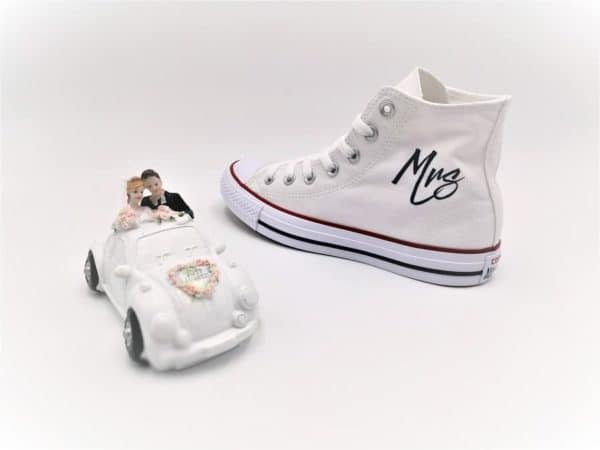 Converse Just Married Fresh par Double G Customs