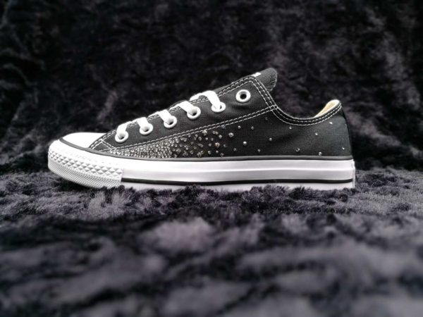 Converse Swarovski Galaxy par Double G Customs