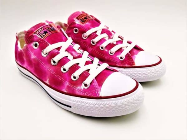 Converse Bubblegum par Double G Customs
