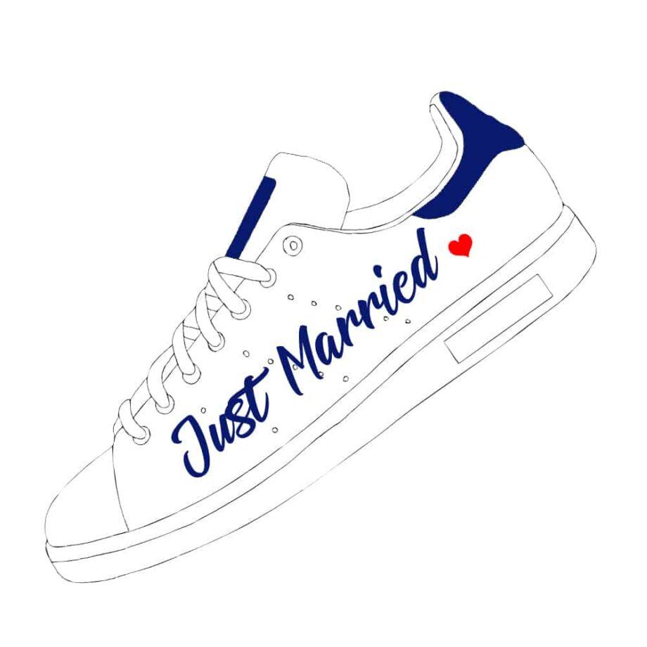Commandez une preview de votre projet de chaussures personnalisables pour votre mariage chez Double G Customs