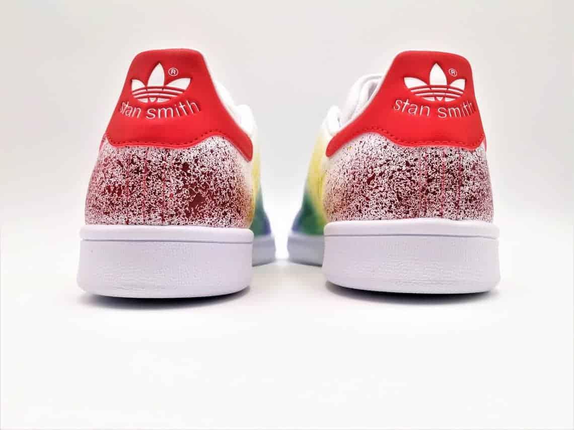 3e34cd5e943 Adidas Color Splash Stan Smith-Double G Customs-Custom shoes