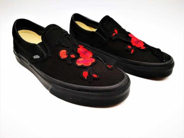 Vans Custom Japan's Spring Flower par Double G Customs