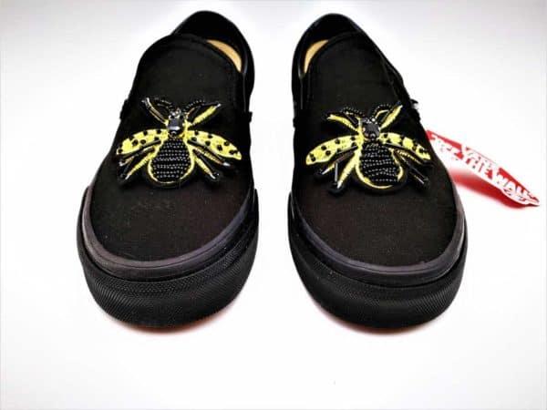 Vans Custom Slip-On Cleopatre par Double G Customs