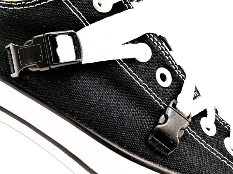 Converse Techgear, chaussures customisées par double g customs