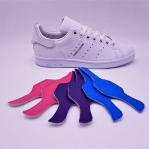 Les Adidas Stan Smith Patch Interchangeable, des Adidas Stan Smith avec les patchs arrières interchangeables. Une paire de Stan Smith, des centaines de possibilités! Double G Customs, créateur de chaussures customisées sur mesure. Adidas Stan Smith Patch interchangeable avec le pack de patch color 1: rose, mauve, bleu.