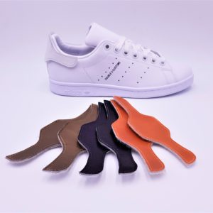Les Adidas Stan Smith Patch Interchangeable, des Adidas Stan Smith avec les patchs arrières interchangeables. Une paire de Stan Smith, des centaines de possibilités! Double G Customs, créateur de chaussures customisées sur mesure. Adidas Stan Smith Patch interchangeable avec le pack de patch metalic 2: cuivre, bronze, holographic.