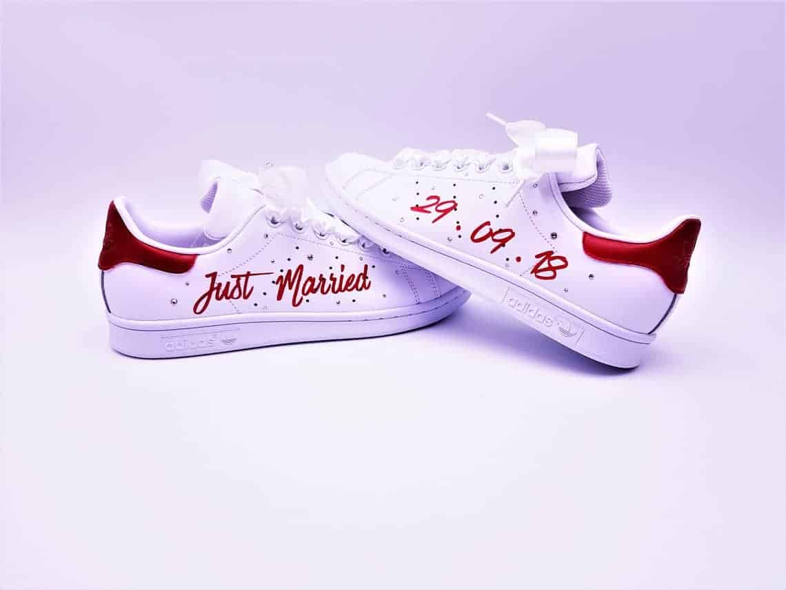 Adidas Stan Smith Just Married Rouge