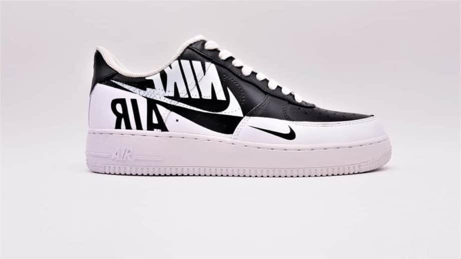 nike air force 1 reverse par double G Lab, section recherche et innovation design footwear de Double G Customs