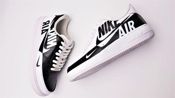 Double G LAB a créé la Nike Air Force 1 Rervese, une paire inversée customisée par Double G Customs.