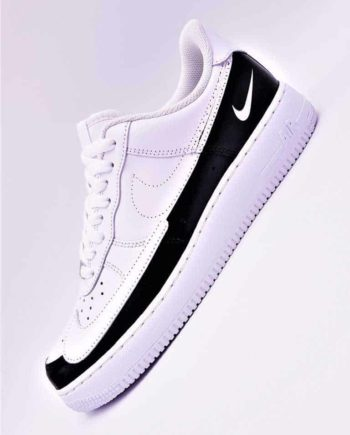 Les nike air force 1 dual ton par Double G Lab sont des nike air force 1 custom réalisées dans un style OG. Doule G LAB, experimental footwear design for Double G Customs