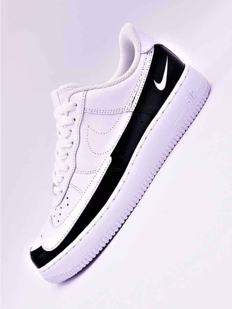82fdce80e56d2 The Nike Air Force 1 dual ton by double G lab are Nike Air Force 1