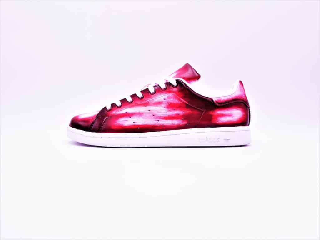 Rouge – Patina G Smith Rose Double Customs Stan Adidas IYDH9WE2