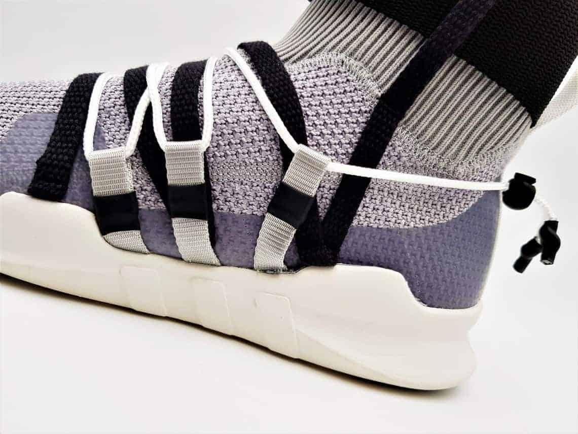 adidas eqt custom concept, customisation techwear réalisée par double g customs
