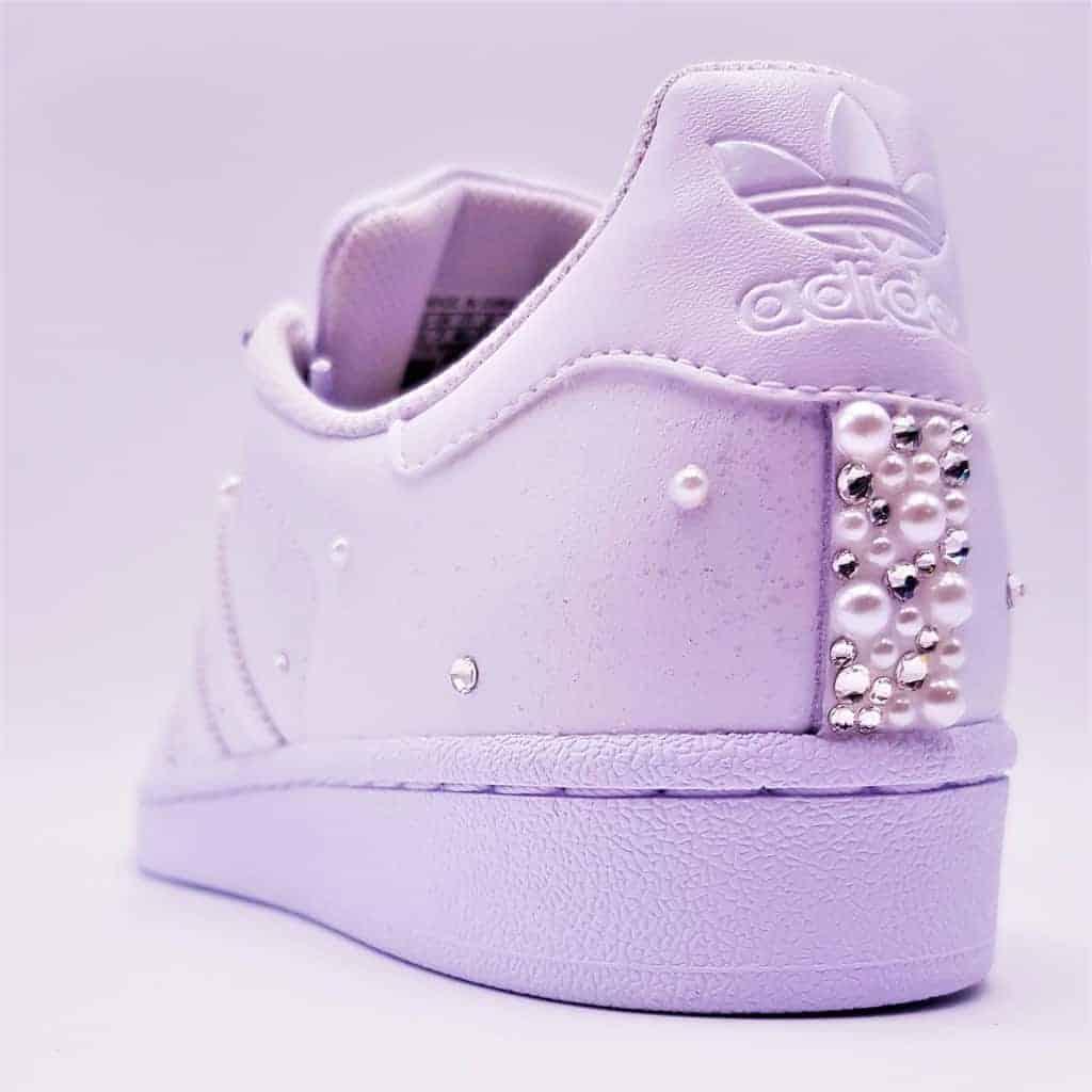Modernité Adidas Violet Chaussures Élégant Superstar Ultra