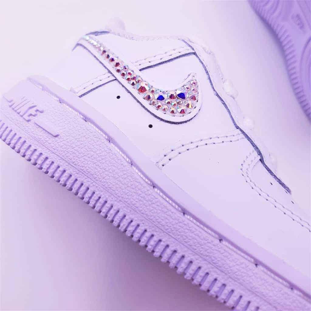 Nike Air Force 1 baby Swarovski