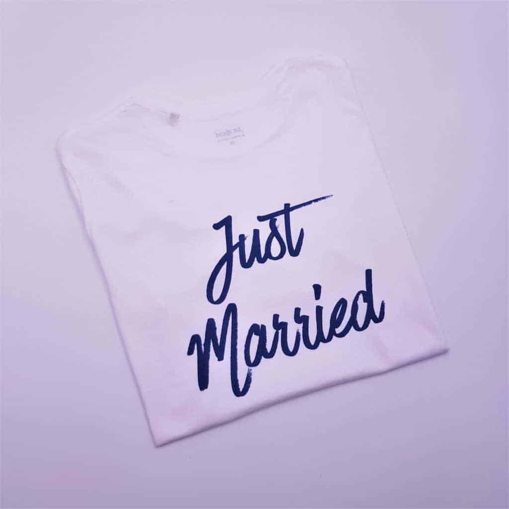 t-shirt-just-married-mariage-double-g-customs-2