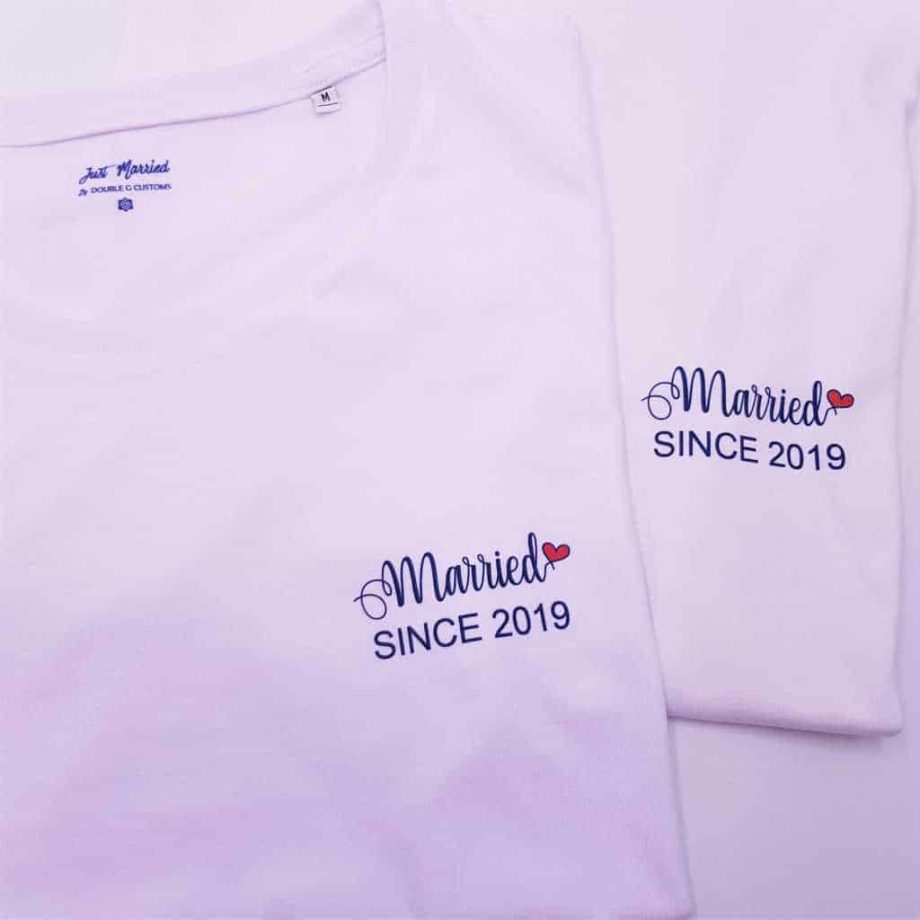 t-shirt-married-since-double-g-customs (2)