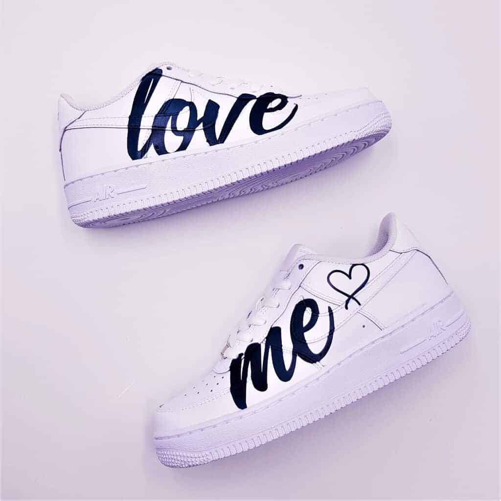 Nike Air Force 1 Love Me - Double G
