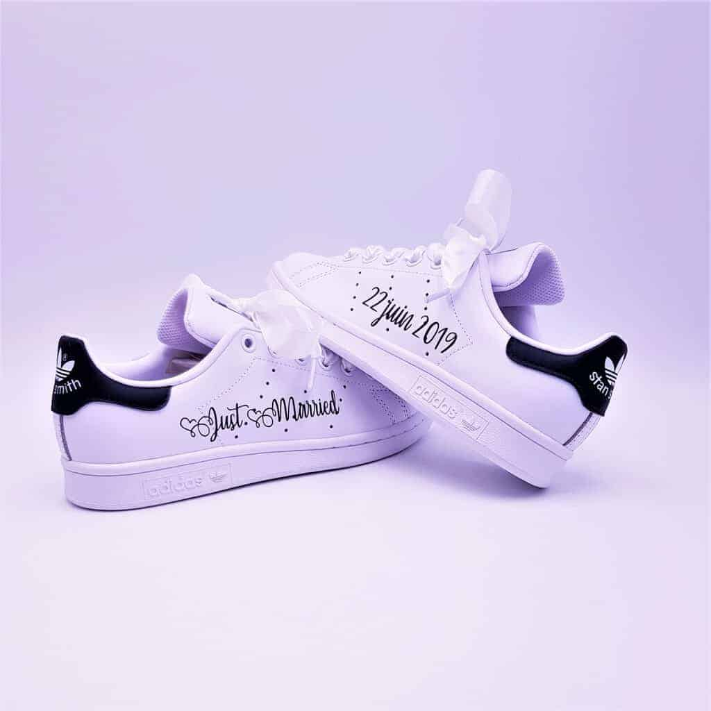 Adidas Stan Smith Just Married Boho Bleu