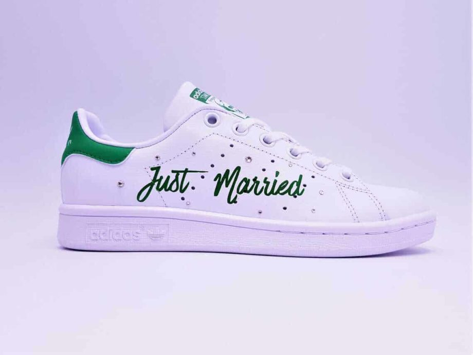 adidas-stan-smith-just-married-vert-double-g-customs (1)