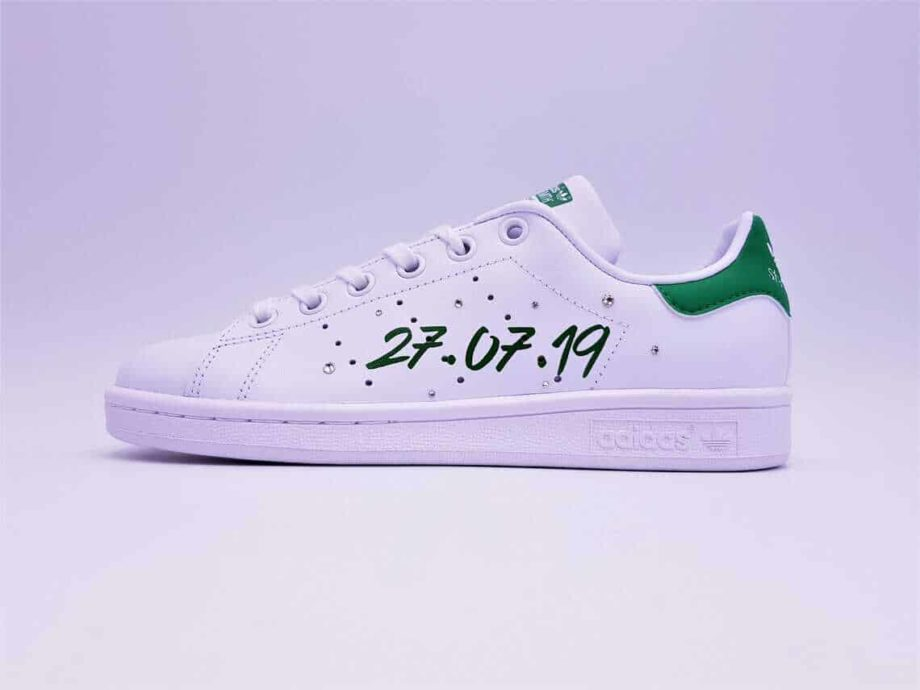 adidas-stan-smith-just-married-vert-double-g-customs (2)