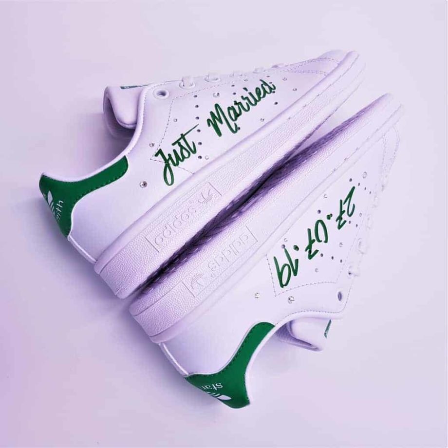 adidas-stan-smith-just-married-vert-double-g-customs (5)