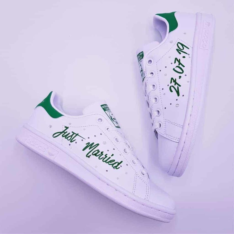 adidas-stan-smith-just-married-vert-double-g-customs (6)
